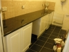fitting work surface